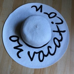 On Vacation Beach Hat